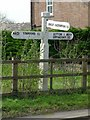 TF0006 : Fingerpost, Tinwell by Alan Murray-Rust