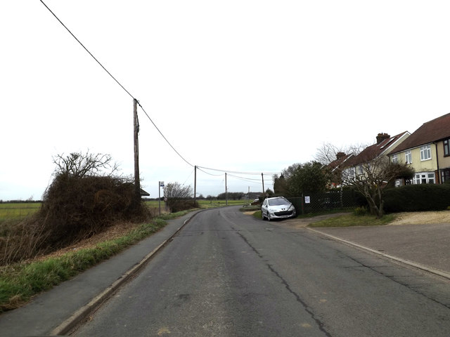 Thorney Green Road, Stowupland