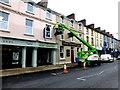 H4572 : Redecoration work, Campsie Road, Omagh by Kenneth  Allen