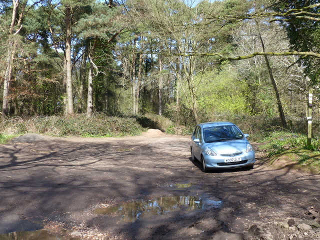 Parking area for Lympstone Common