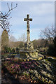 SK4391 : Memorial in Moorgate Cemetery, Rotherham by Ian S