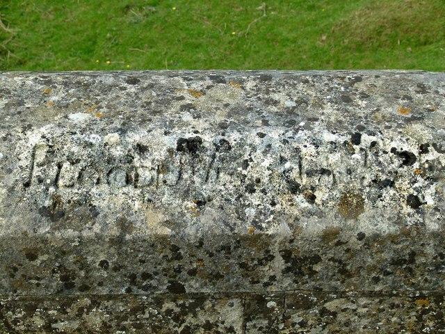 Inscription on Welland Bridge – 2