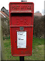 TM0660 : Post Office Church Road Postbox by Adrian Cable