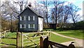 TQ2729 : Woodmans Cottage in Nymans Woods by PAUL FARMER