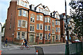 TQ3276 : Park House and Brighton House, north end of Camberwell Green by Robin Stott