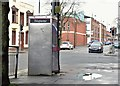 J3573 : Telephone box, Templemore Avenue, Belfast (April 2016) by Albert Bridge