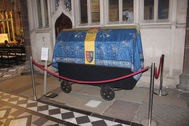 Covered Bier in Chester Cathedral