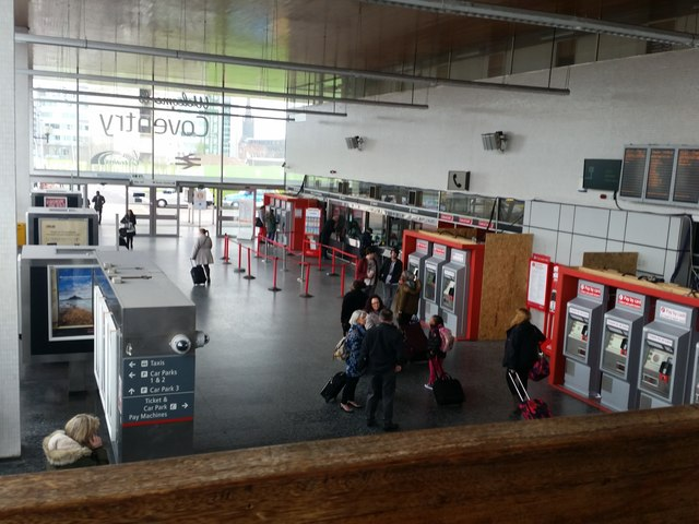 The Concourse, Coventry Station