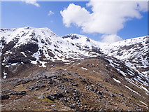 NN2445 : West ridge of Stob a' Choire Odhair by Trevor Littlewood