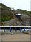SZ0990 : East Cliff Lift by Michael Dibb