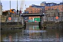 SE3032 : Leeds Dock, River Aire, Leeds by Mark Stevenson