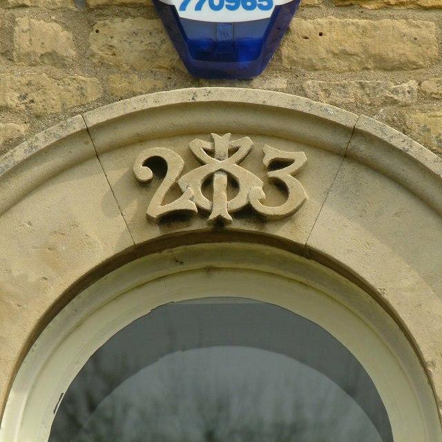 Datestone, 20 Chapel Lane, Barrowden