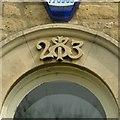 SK9400 : Datestone, 20 Chapel Lane, Barrowden by Alan Murray-Rust