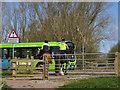 TL3369 : (Im)polite horse rider by Hugh Venables