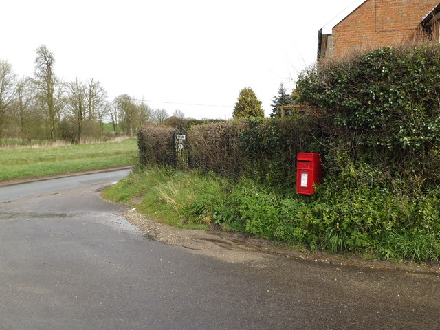 1 Rectory Cottage Postbox