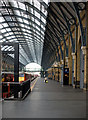 TQ3083 : Platform 0, King's Cross Station by Julian Osley