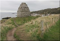 NS2515 : Dunure Castle Dovecot by Richard Sutcliffe