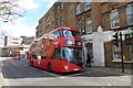 TQ3284 : Bus on Newington Green Road by DS Pugh