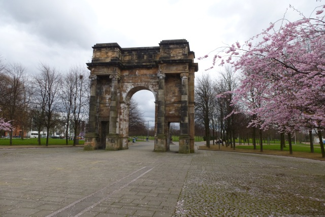 Arch in Glasgow Green