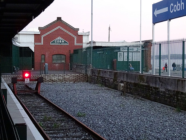 The end of the line at Cobh