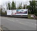 SO9322 : Queen's Road Primesight advertising hoardings, Cheltenham by Jaggery