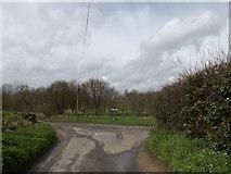 TM1453 : Bull's Road, Hemingstone by Adrian Cable