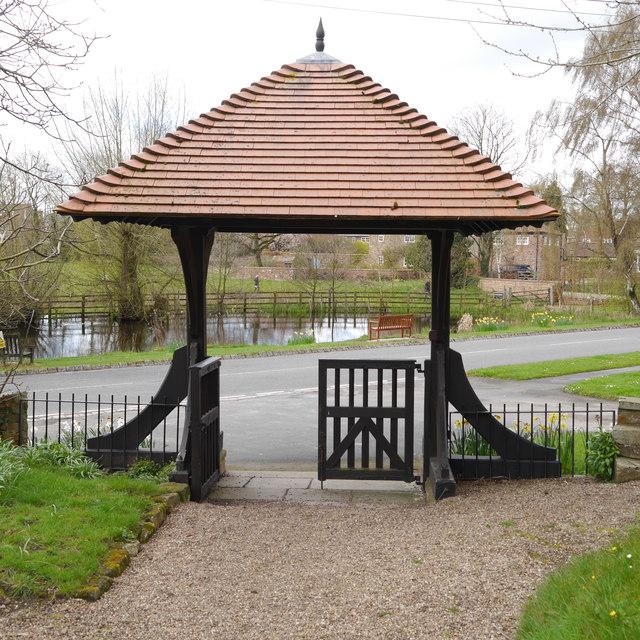 Lych gate of St Nicholas, Askham Bryan
