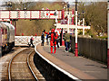 SD7916 : Imperial Stormtroopers at Ramsbottom Station by David Dixon