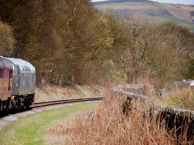 East Lancashire Railway Approaching Irwell Vale