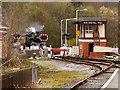SD8022 : East Lancashire Railway, Rawtenstall West by David Dixon