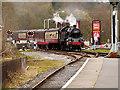 SD8022 : Steam Train Approaching Rawtenstall by David Dixon