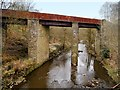SD7819 : River Irwell, Abandoned Viaduct by David Dixon