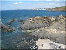 SX6642 : The coast at Thurlestone by Philip Halling