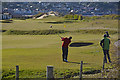 SS9846 : Minehead : Minehead & West Somerset Golf Course by Lewis Clarke