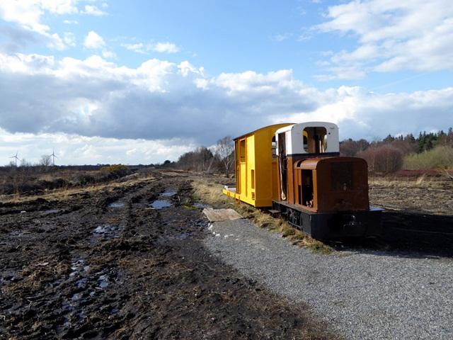 Old peatland locomotive