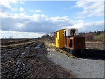 N1719 : Old peatland locomotive by Oliver Dixon