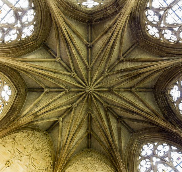 Chapter House ceiling, Southwell Minster