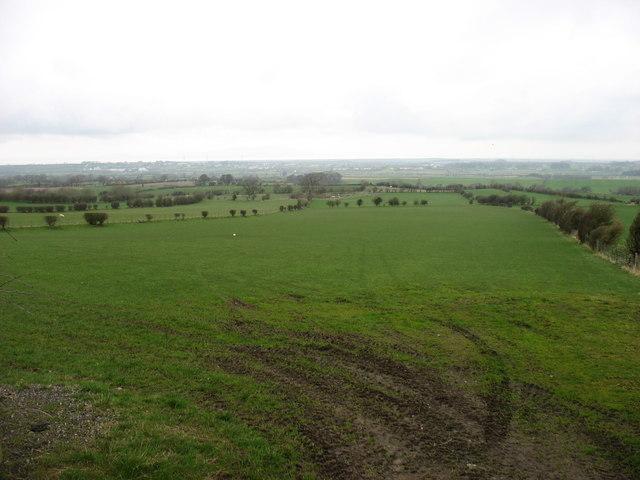 Farmland west of Bothel