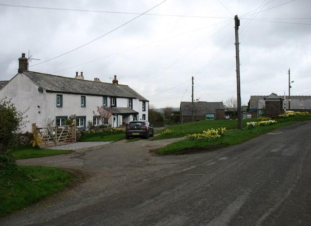 Threapland village