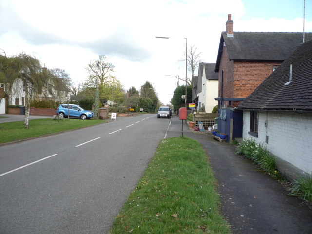 Uttoxeter Road, Foston