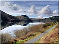 SN9264 : Caban Coch Reservoir by David Dixon