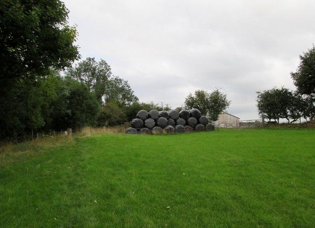 Approaching  Netherhurst  Farm