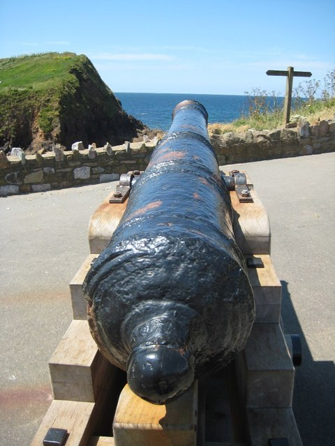 Cannon at Outer Hope