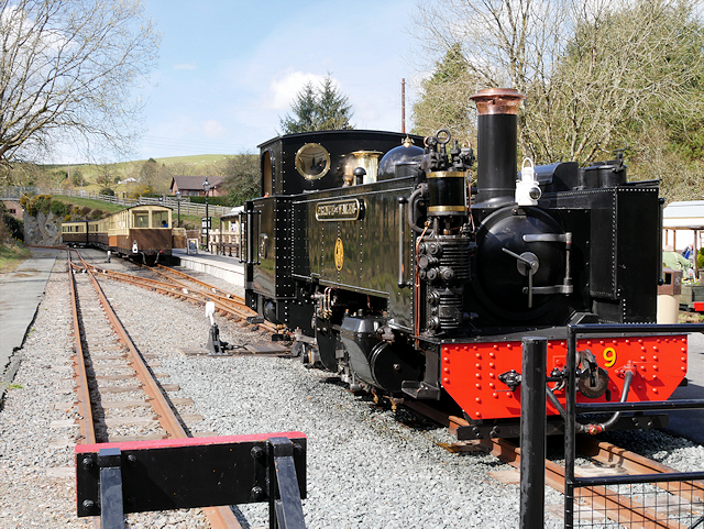 Prince of Wales at Devil's Bridge Station