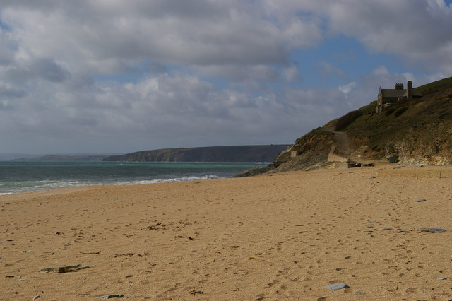 North end of Loe Bar, and Bar Lodge