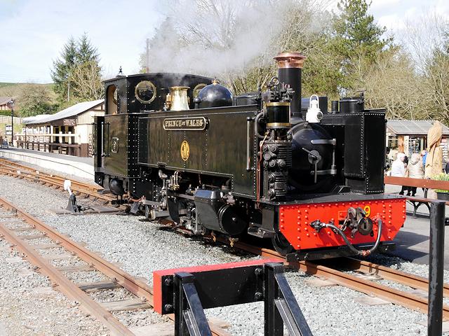 Vale of Rheidol Railway Locomotive No 9, Prince of Wales