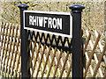 SN7277 : Rhiwfron, Vale of Rheidol Railway by David Dixon