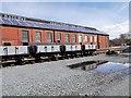 SN5881 : Rheilffordd Cwm Rheidol Locomotive Shed at Aberystwyth by David Dixon