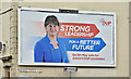 J4669 : Assembly election poster, Comber - April 2016(1) by Albert Bridge