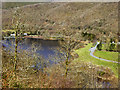 SN6979 : Afon Rheidol and Cwm Rheidol Reservoir by David Dixon
